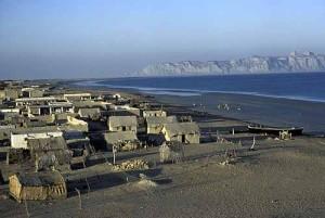 Gwadar as it looked in 1981, Makran Coast of Baluchistan. Pakistan. Picture by Christine Osborne.